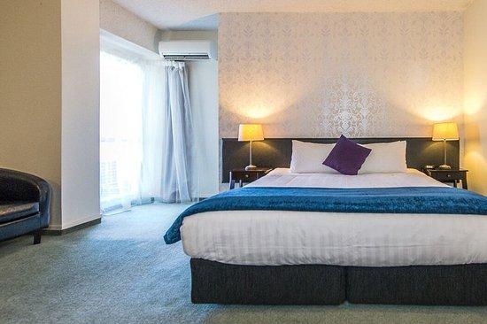 Whanganui, Yeni Zelanda: Guest room