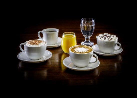 Bluff, UT: Latte's, Hot Chocolate Espresso