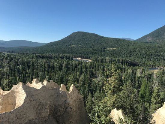 Kimberley, Canada: More cliffs