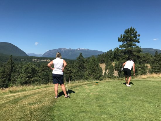 Kimberley, Canada: Checking out a challenging Par 3