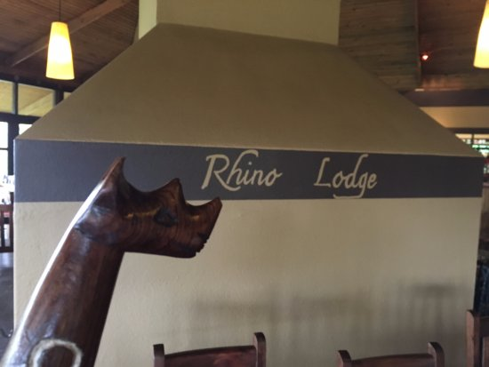 Ngorongoro Rhino Lodge The Back Of Open Fireplace In Dining Area At