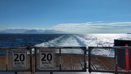 ซีดนีย์, แคนาดา: Back View of Queen of Cowichan Ferry