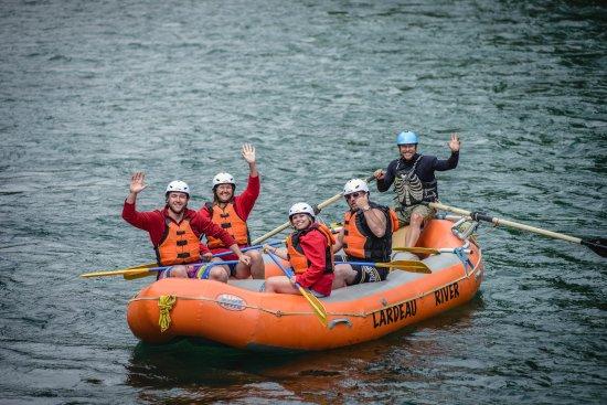 Kaslo, Kanada: Lardeau River Adventures