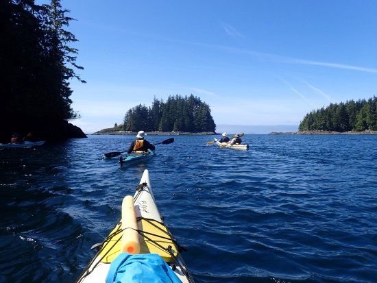 Echo Bay, Canada: Kayaks in the Broughton Archipelago
