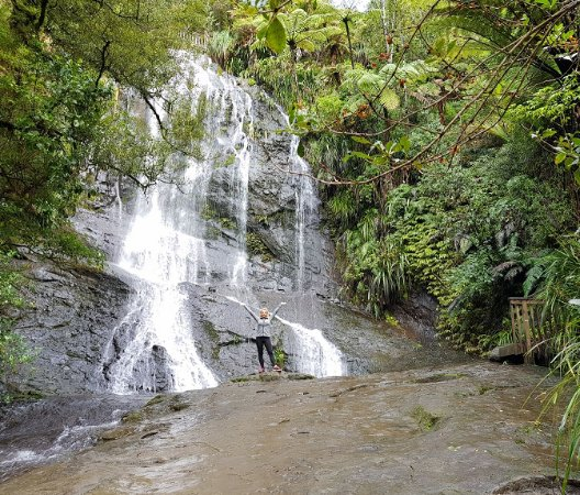 Auckland Region, Nuova Zelanda: Bottom of the Falls