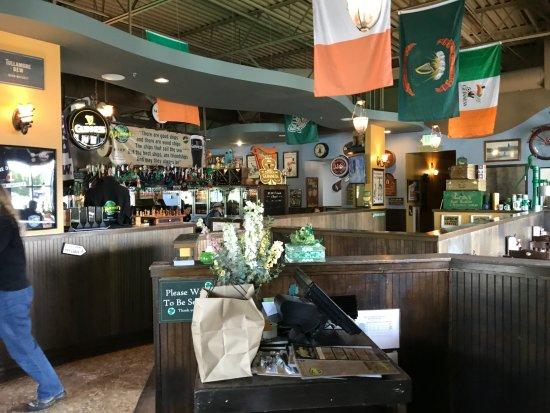 Everett, WA: Interior bar area (in the center)