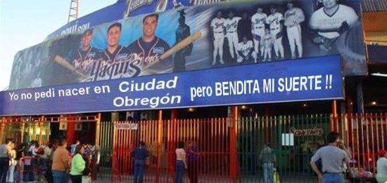 Ciudad Obregon, Mexico: Estadio Tomás Oroz Gaytán