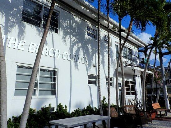 Beach Place Hotel  Harding Ave Miami Beach Fl