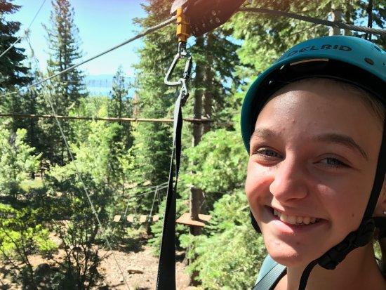 Tahoe City, CA: Happy 14 year old!