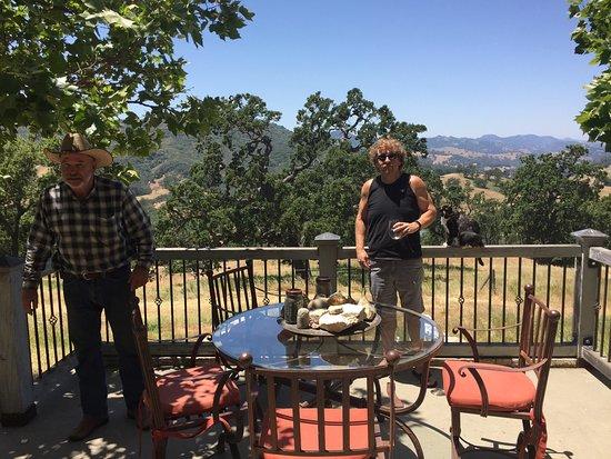 Paso Robles, كاليفورنيا: Laird Foshay, Ranchland owner/Vintner/Cattle & Sheep Rancher- extraordinaire.