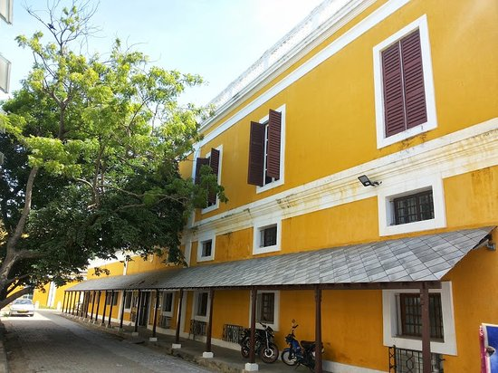 Bright Yellow Color Picture Of French Institute Pondicherry
