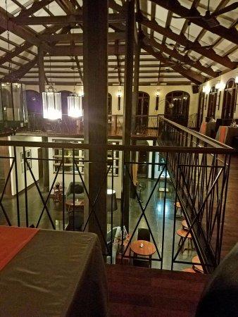 Heritage Restaurant: Rustic feel