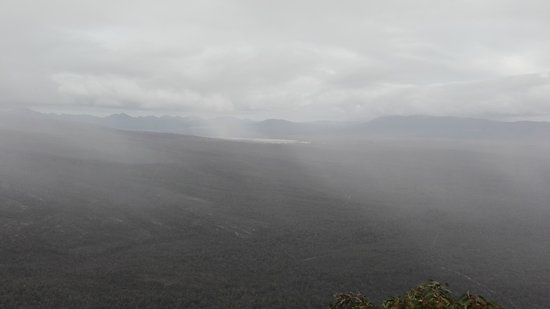 Grampians, Australia: demasiada niebla