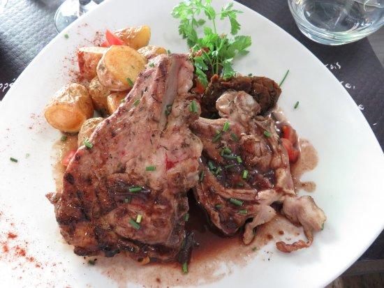 La Table d'Ysoa : Côtelettes d'agneau