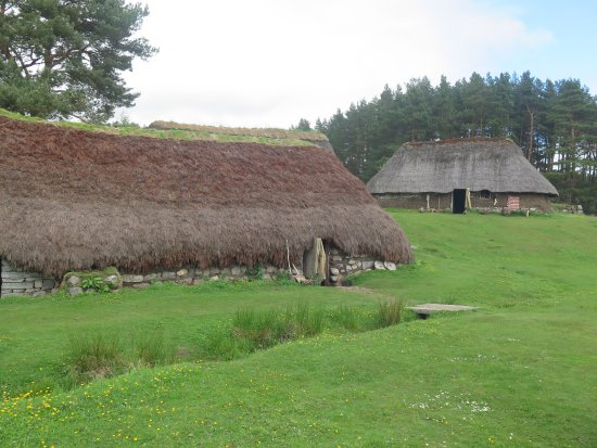 Newtonmore, Highland Folk Museum, le Township