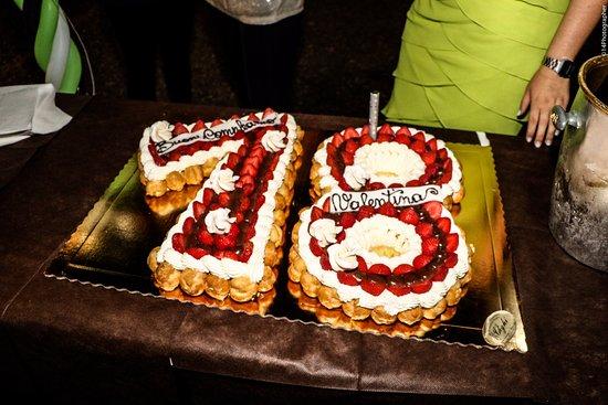 Мельцо, Италия: Torta di compleanno