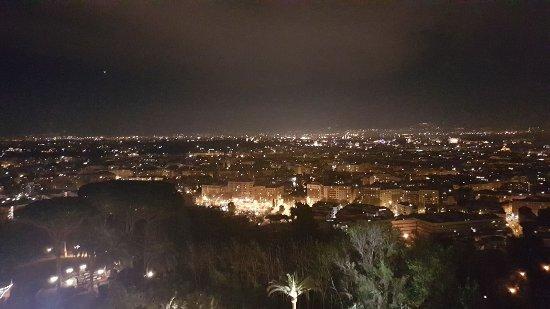 Roma Di Notte Dalla Terrazza Picture Of La Pergola Rome