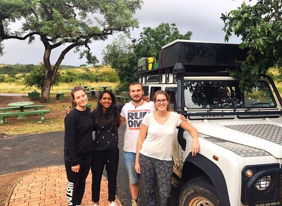 Zululand, South Africa: Another happy bunch, who saw the Big 4. several times