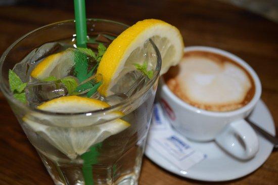 Slunj, Croatia: SPECIAL OFFER - Coffee + natural juice (elder)