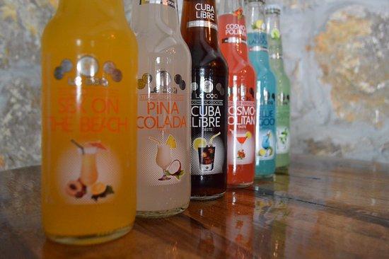 Slunj, Croatia: 6 types of cocktails