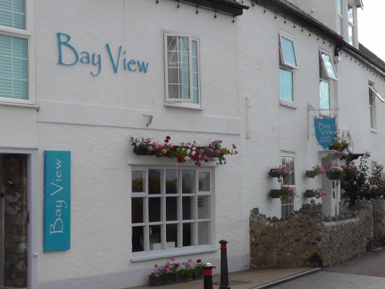 Beer, UK: Bay View B&B.