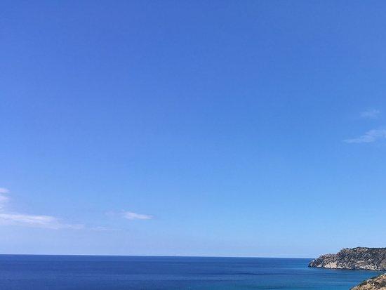 Gavdos, Greece: View of beach