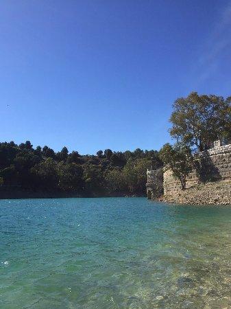 El Chorro, إسبانيا: El Chorro lake