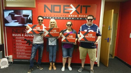 Bolton, UK: WE ESCAPED!!!
