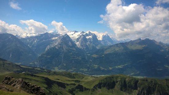 Melchsee-Frutt, Switzerland: Vue depuis le sommet
