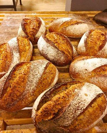 Arendal, Noruega: Healthy bread, this is Lenas, takes 3 nights to make