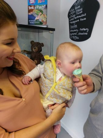 Stranraer, UK: Baby cones for the wee ones
