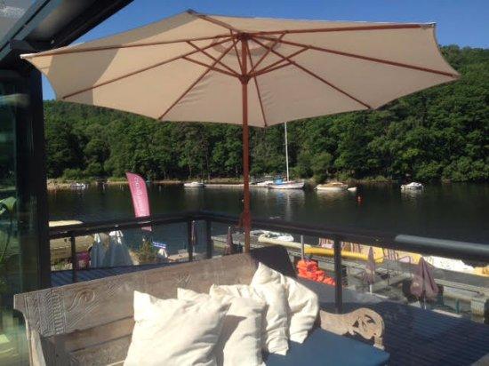 Morbihan, França: Vue de la terrasse