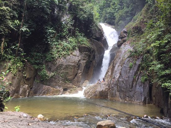 Small And Safe Water Flows Cool Air Green Scenery Are Attractions That You Can