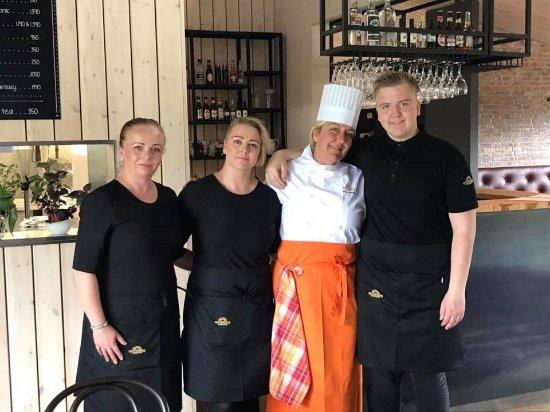 Fludir, Island: The staff