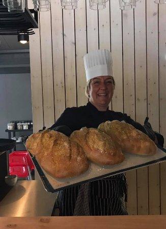 Fludir, Island: The cook - very friendly :)