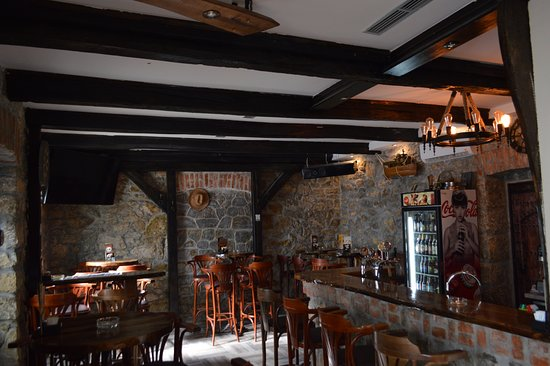 Slunj, Croatia: Decorated in wood and rock