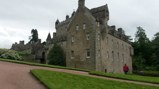 Cawdor House: Cawdor Castle. A late 14th century Scottish Castle