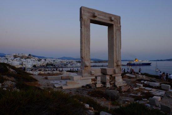 Portara: port of naxos
