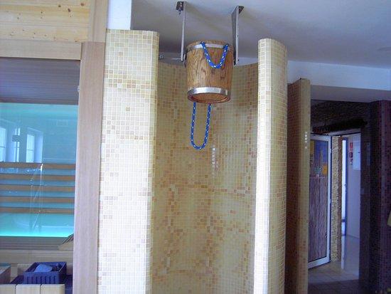 Ustronie Morskie, Poland: Erfrischung Sauna