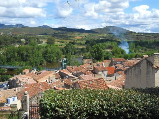 Cessenon-sur-Orb, Francia: From the Bell Tower overlooking the valley.