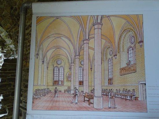 Abbaye de Villers: Planche explicative