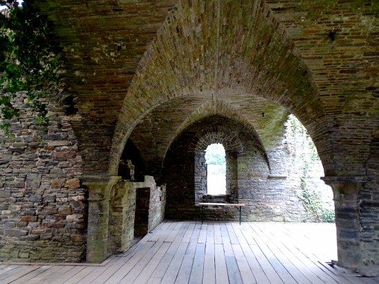 Abbaye de Villers: des endroits magique d'une grande beauté