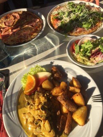 Lilienthal, Alemania: Pute und Pizza