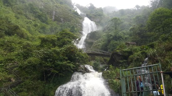 how to get to silver waterfall sapa