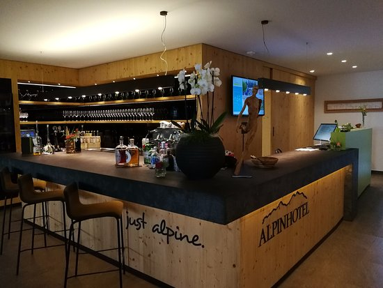 Alpinhotel Keil: il bar alla reception