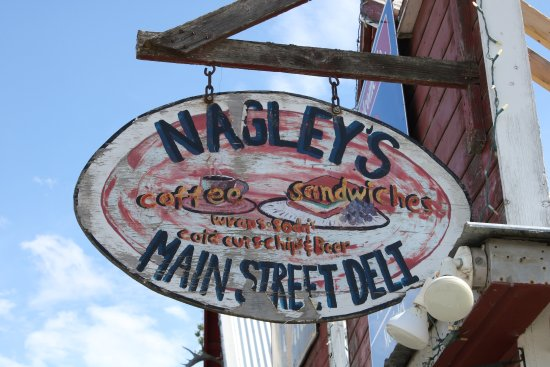 Nagley's Store: Uithangbord