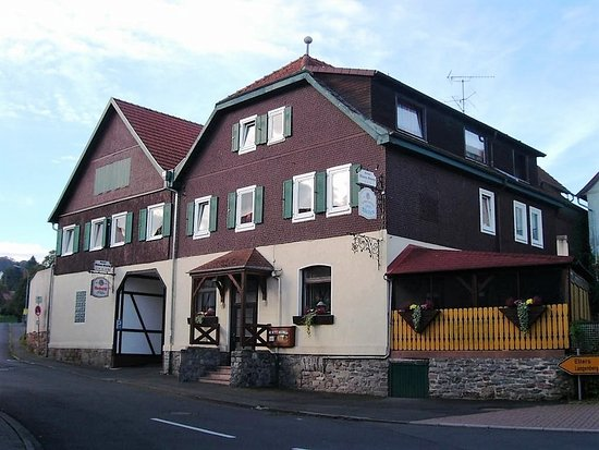 """Hofbieber, Almanya: Das sehr saubere und ruhige """" Rhön Stern Hotel """" liegt zentral in der Rhön !"""