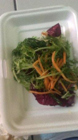 Warong Wahaha: not fresh salad