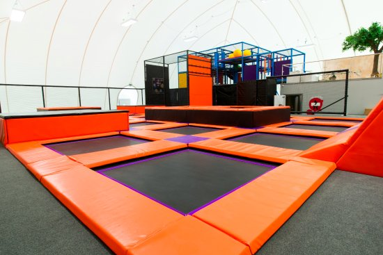 North Shields, UK: The Bounce Zone