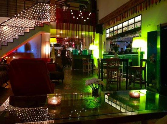 Alcacer do Sal, Portugal: Bar area